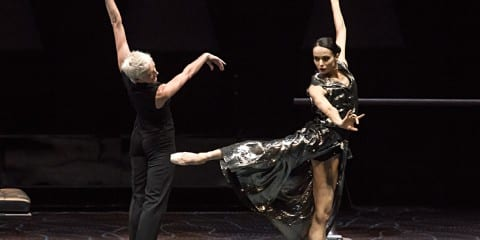 Diana Vishneva and Bernice Coppieters. Photograph by Gene Schiavone